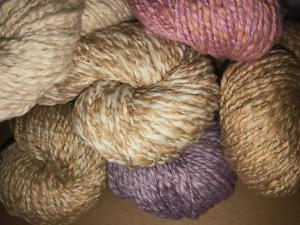 Pakucho Handcrafted Andean Mist Organic Cotton Worsted Fantasy Flamme