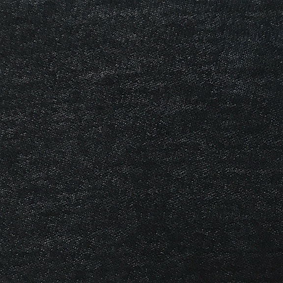 91b228a6294 Peruvian GOTS Organic Pima Cotton Airy Crepe Jersey Fabric (Black ...