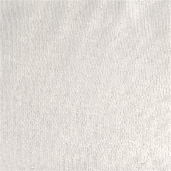 Peruvian GOTS Organic Cotton Pima 1x1 Rib Fabric (Eco White)