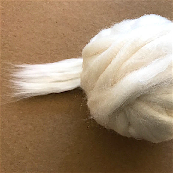 Peruvian GOTS Organic Winter Tanguis Cotton Sliver