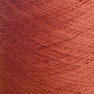 Ecobutterfly Ecology Strings: Organic Cotton Yarn (Color: Rust)