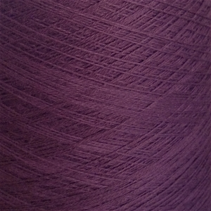 Ecobutterfly Ecology Strings: Organic Cotton Yarn (Color: Aubergine)