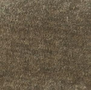 Peruvian GOTS Organic Pima Cotton 1x1 Rib Fabric (Cypress Olive Heather)