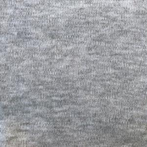 Peruvian GOTS Organic Pima Cotton Interlock Fabric (Storm Cloud Heather)