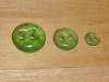 "3/4""  (20 mm) Artisan Recycled Glass Buttons (Spring)"