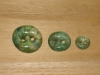 "3/4""  (20 mm) Artisan Recycled Glass Buttons (Sea Glass)"