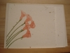 Grow-A-Note Pink Calla Lillies Card