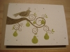 Grow-A-Note: Partridge in a Pear Tree Holiday Card