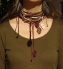 Eco Beaded Leaves Lariat Kit (NEW!)