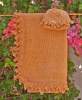 Eco Abstract Flower Petal Edged Blanket (NEW!)