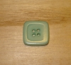 "5/8"" Light Aqua Corozo (Tagua Nut) Square Rim Button"