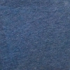 Peruvian GOTS Organic Pima Cotton Jersey Fabric (Indigo Heather)