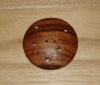 "2 1/4"" Extra Large Round Multi-Hole Wood Button"