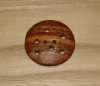 "1 5/8"" Large Round Multi-Hole Wood Button"