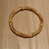 "4.5"" Round Bamboo Purse handle"