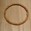 "5.5"" Round Bamboo Purse Handle"