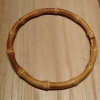 "6.5"" Round Bamboo Purse Handle"