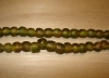 20 Camouflage Artisan Small Recycled Glass Beads
