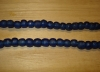20 Cobalt Artisan Small Recycled Glass Beads