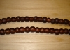 15 Rootbeer Artisan Medium Recycled Glass Beads