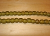 15 Olive Moss Artisan Medium Recycled Glass Beads