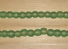 10 Sea Glass Artisan Large Recycled Glass Beads
