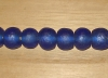 5 Indigo Artisan Extra Large Recycled Glass Beads