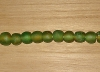 10 Rainforest  Artisan Large Recycled Glass Beads